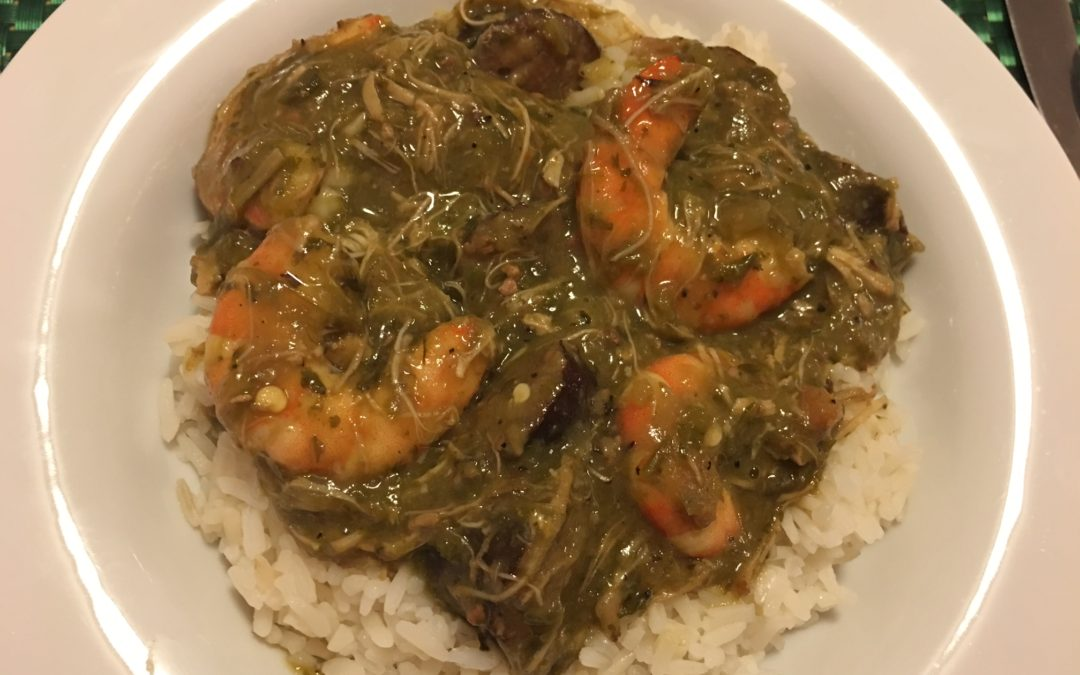 Dad's Seafood Gumbo